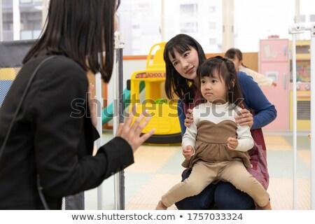 Bye Mom! Stock photo © luminastock