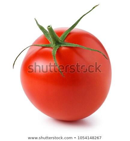 Whole one cherry tomato Stock photo © lunamarina