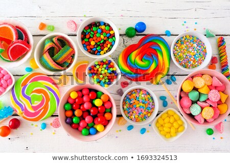 Colorful background of assorted Gumballs Stock photo © pxhidalgo