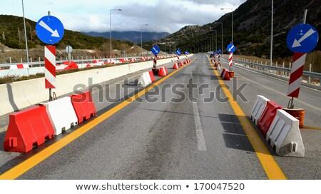 van road maintenance Stock photo © pedrosala
