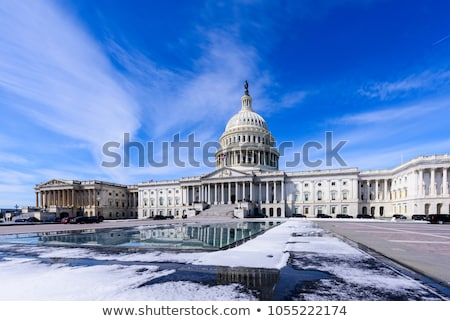 US Capitol Dome Houses of Congress After Snow Washington DC Stock photo © billperry