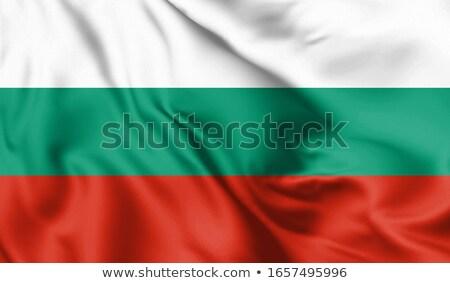 футбола флаг Болгария зеленая трава Футбол области Сток-фото © MikhailMishchenko