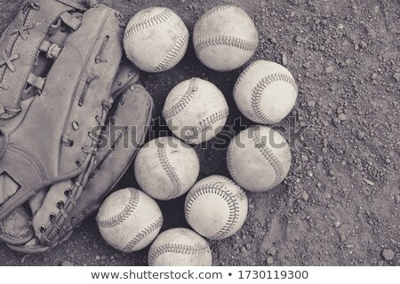 baseball practice monochrome stock photo © dehooks