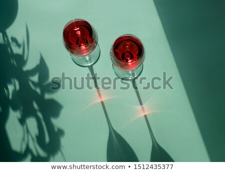 two wineglasses stock photo © nneirda