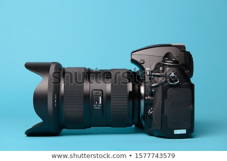 DSLR Camera Isolated Stock photo © ArenaCreative