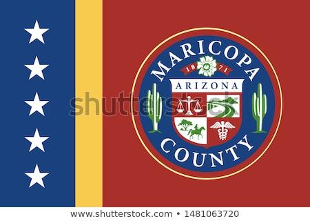 Karte · Arizona · Reise · america · USA · isoliert - stock foto © beholdereye