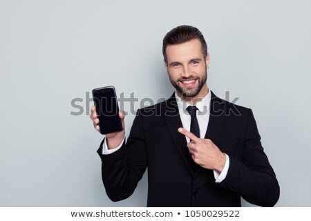 business man recommends reading stock photo © feedough