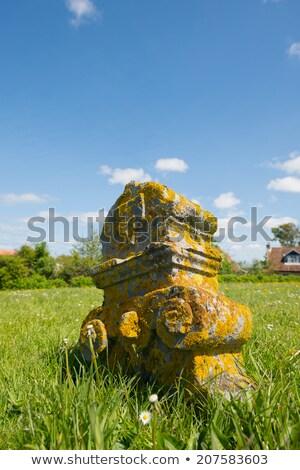 Graveyard at Dutch Terschelling Stock photo © ivonnewierink