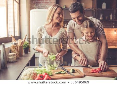 Alimentación saludable vegetales receta libro espacio de la copia Foto stock © stevanovicigor