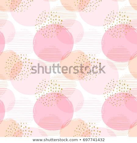 サークル 金 ストライプ 実例 印刷 ストックフォト © yurkina