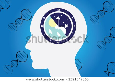 female biological clock stock photo © lightsource