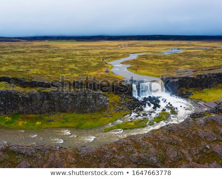 Scenic view of Oxara River. Stock photo © 1Tomm