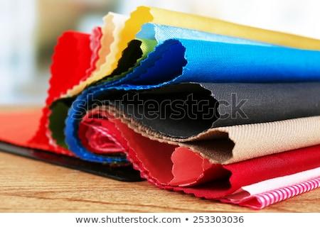 Textura corte textiles diferente colores Foto stock © nikolaydonetsk