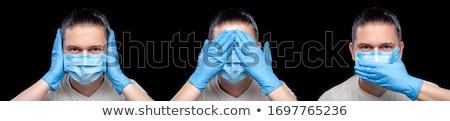 ничего человека стороны бизнеса Сток-фото © stockyimages