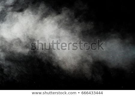 Foto d'archivio: Blu · fumo · isolato · bianco · abstract · sangue