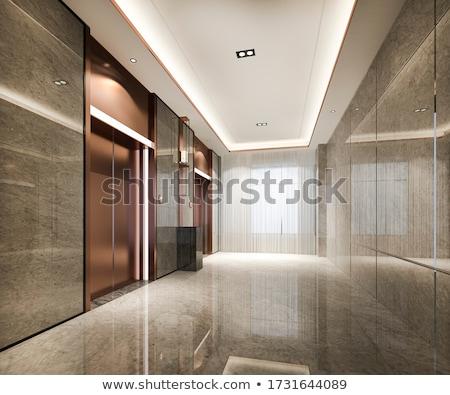 отель · лобби · лифта · пространстве · дома · свет - Сток-фото © wxin