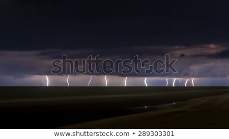 lightning over florida usa stock photo © backyard-photography