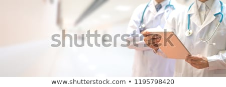 Aging Diagnosis. Medical Concept. Stock photo © tashatuvango
