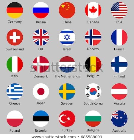Canada België vlaggen puzzel geïsoleerd witte Stockfoto © Istanbul2009