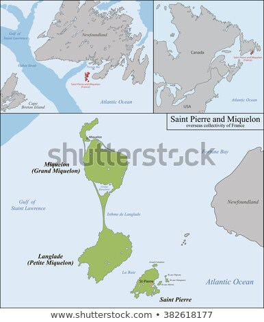 Canada and Saint Pierre and Miquelon Stock photo © Istanbul2009