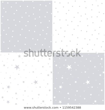 падение снега ночное небо звезды вектора Сток-фото © rommeo79