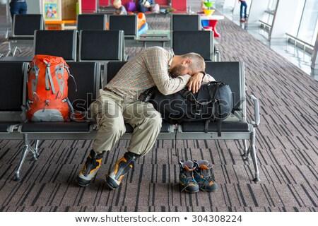 Tired traveler Stock photo © RazvanPhotography