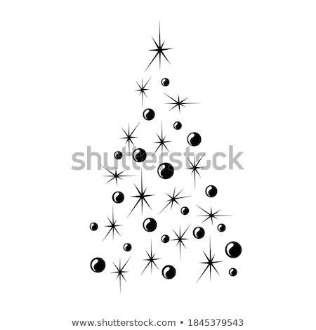 stylisé · Noël · élégante · eps · vecteur - photo stock © beholdereye
