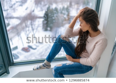 Affected by cold. Stock photo © Fisher