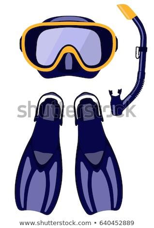 スキューバダイビング マスク 夏 実例 水 海 ストックフォト © adrenalina