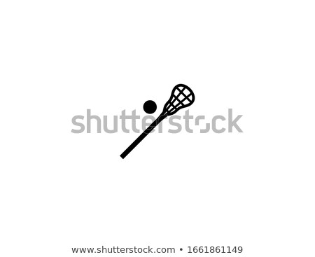 Lacrosse icon in colors Stock photo © bluering