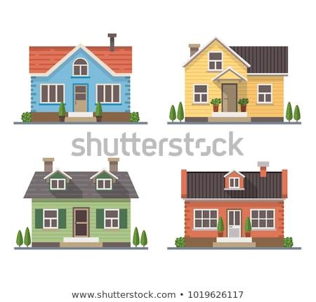 verschillend · gebouw · ontwerpen · witte · bouw · ontwerp - stockfoto © bluering