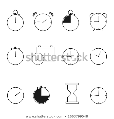 set of 24 artist icons stock photo © angelp