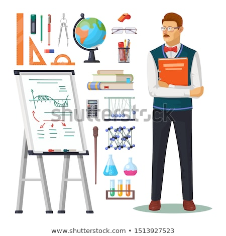 Geography Class Items Stock photo © AlphaBaby