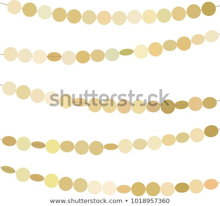 Papel grinalda decoração coleção celebração Foto stock © timurock