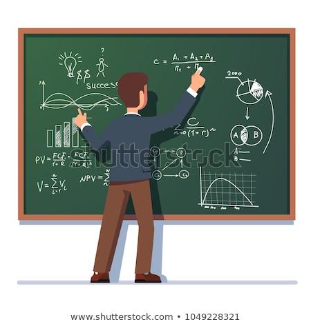 School Teacher Isolated Character Stock photo © robuart