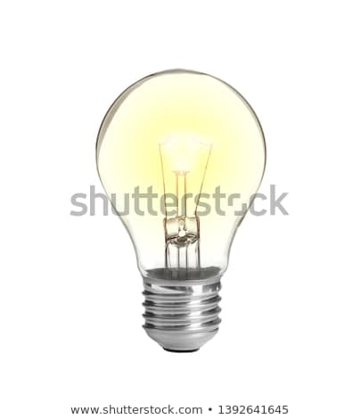 lit light bulb stock photo © creisinger