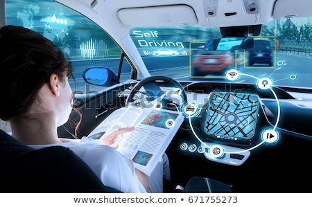 Autonomous Driving Concept Stock photo © Lightsource