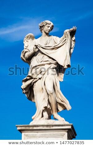 ange · statue · ciel · bible · vie · dieu - photo stock © boggy