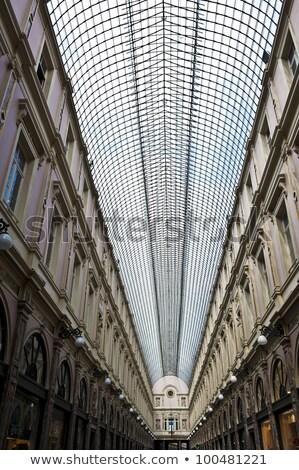 Hoog Brussel winkelen galerij beroemd Stockfoto © artjazz
