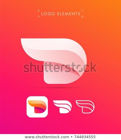 бизнеса · корпоративного · буква · d · дизайн · логотипа · вектора · красочный - Сток-фото © sarts