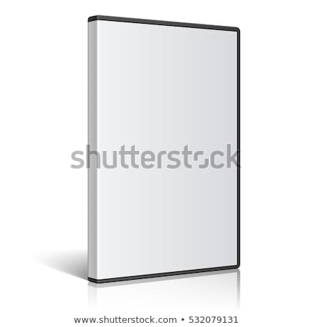 Stock photo: dvd box