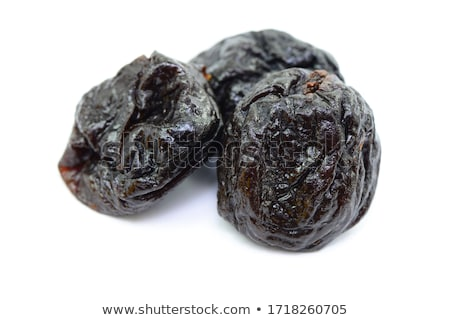 Stock photo: dried plums (prunes)