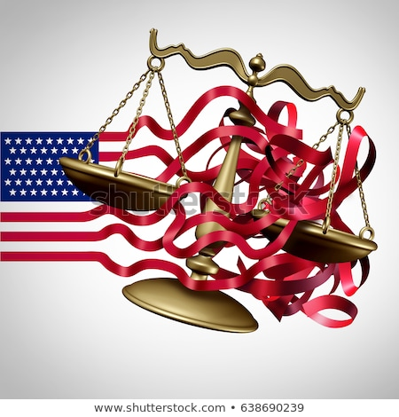 giuridica · azione · rosso · bianco · criminalità - foto d'archivio © lightsource