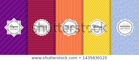 minimal lines vertical banners vector Stock photo © SArts