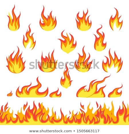 火の玉 · 炎 · 火災 · 抽象的な · 自然 · 光 - ストックフォト © djdarkflower