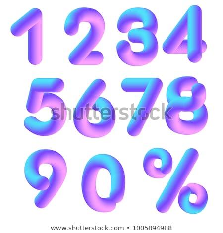 Deal 3D glanzend vector icon ontwerp Stockfoto © rizwanali3d