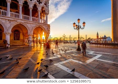Venice at sunrise Stock photo © Givaga