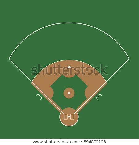 beysbol · beysbole · benzer · top · oyunu · spor · oyun · vektör · hat - stok fotoğraf © andrei_