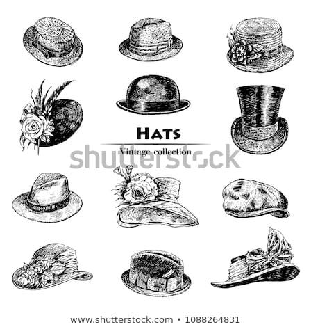 Vintage Hat Vector Icon Stock photo © smoki