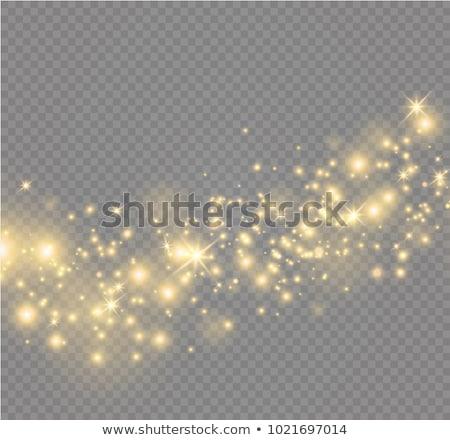 Parlak parlak mavi altın soyut Stok fotoğraf © blackmoon979